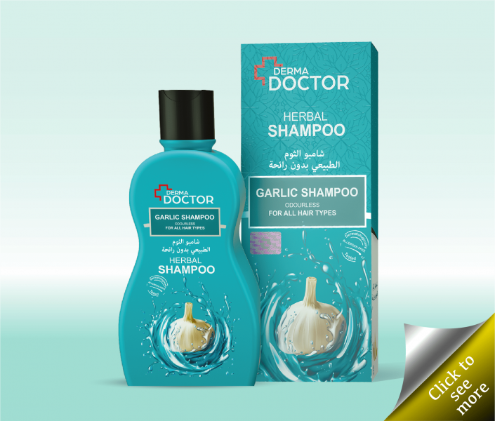 500ml Garlic Shampoo