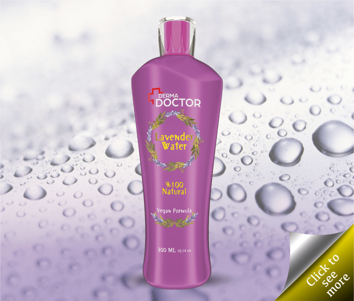 300ml Lavender Water %100 Natural