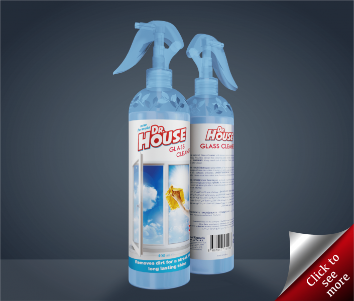 400ml Glass / Window Cleaning Spray
